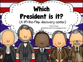 Which President is it? A lift-the-flap discovery center