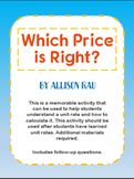 Which Price is Right?