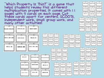 Which Property Is This (Distributive, Communative, Associative, Identity, Zero)