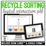 Recycle Sorting Digital Activity