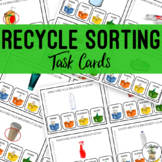 Recycle Sorting Task Cards
