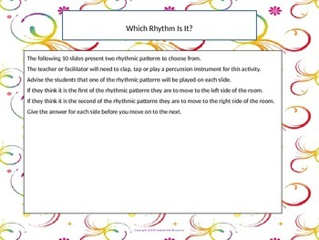Which Rhythm Is It?