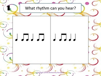 Which Rhythm Is It? (Printable Version)