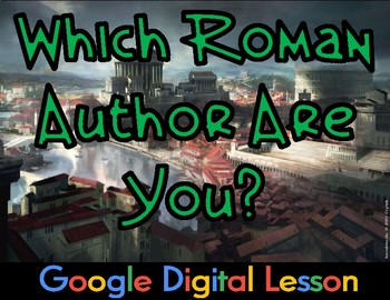 Which Roman Author Are You? Google Doc Activity