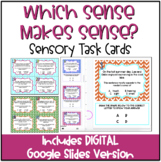 Which Sense Makes Sense? Sensory Word Task Cards with QR Codes