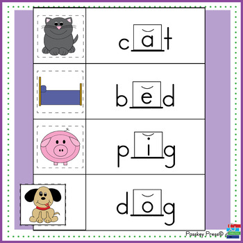 Which Short Vowel Completes the Word?