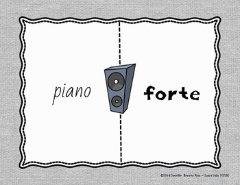 Which Side? - A four corners style Dynamics Game {forte piano edition}