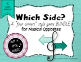 Which Side? - A four corners style 7 Game BUNDLE {Musical