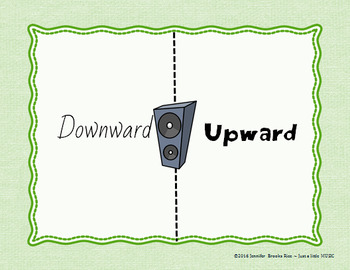 Which Side? - A four corners style Pitch Game {upward downward}