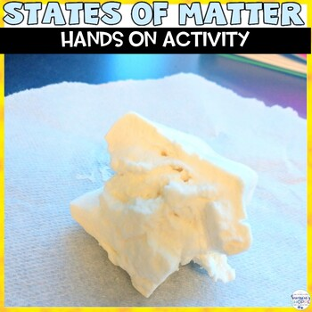 States of Matter solid, liquid, gas Activity