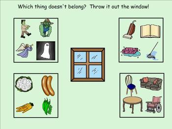 Which Thing Does Not Belong?  Interactive Activity