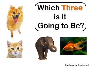 Critical Thinking - Which Three is it Going to Be?