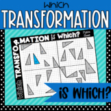 Identifying Transformations Activity | Reflections | Rotat
