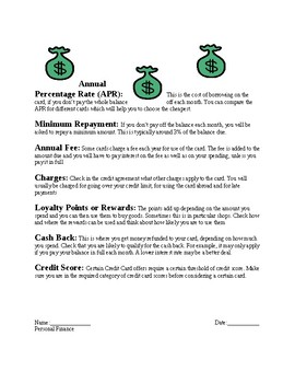 Which Type of Credit Card Are You?