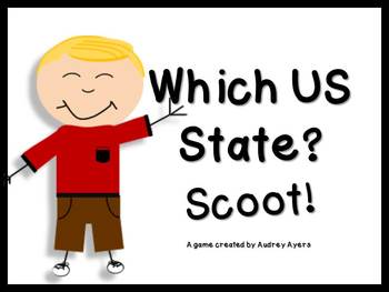 Which US State Scoot Game --States Geograpy Review--