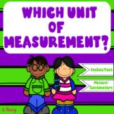 Units of Measurement Task Cards