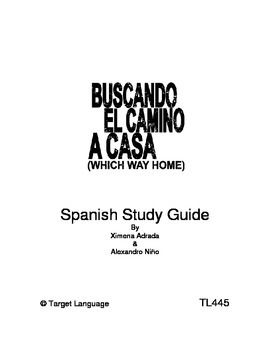 Which Way Home-Spanish Study Guide