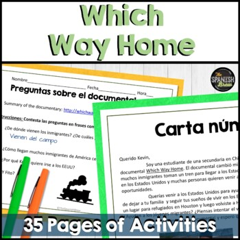 ?Which Way Home? Spanish documentary (movie). Bundle