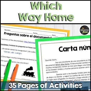 ?Which Way Home? Spanish documentary (movie). Bundle