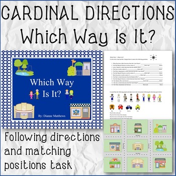 CARDINAL DIRECTIONS Which Way Is It?
