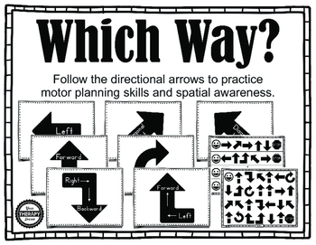 Which Way? Motor Planning and Visual Spatial Activity