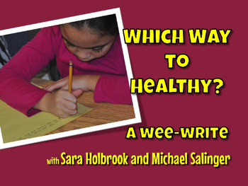 Which Way to Healthy? Poem Rewrite with Healthy Eating Habits