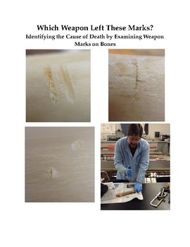 Which Weapon? Identifying the Cause of Death by Examining Weapon Marks on Bones