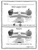 Which Weighs More - Apple or Pumpkin