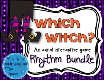 Which Witch? A Halloween-Themed Interactive Aural Game {8-Game Bundle}