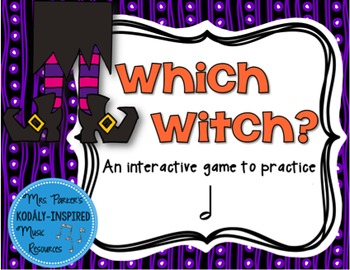 Which Witch? A Halloween-Themed Interactive Aural Game {Half Note}