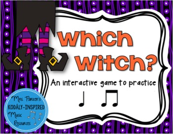 Which Witch? A Halloween-Themed Interactive Aural Game {Ta Ti-Ti}