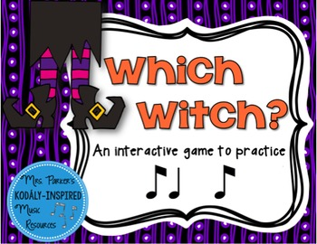 Which Witch? A Halloween-Themed Interactive Aural Game {Ti Ta Ti}