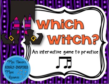 Which Witch? A Halloween-Themed Interactive Aural Game {Ti-Tika}
