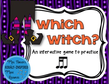Which Witch? A Halloween-Themed Interactive Aural Game {Tika-Ti}