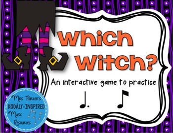 Which Witch? A Halloween-Themed Interactive Aural Game {Tom Ti}