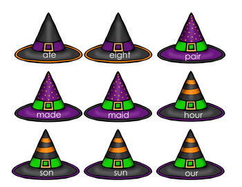 Phonics- Homophone - Which Witch is Which?