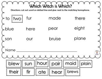 Homophone - Which Witch is Which?