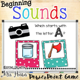 Which Word Beginning Sound Hunt & Find PowerPoint