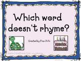 Which Word Doesn't Rhyme Power Point