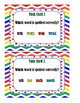 Which Word is Spelled Correctly?  Task Cards