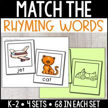 Which Words Rhyme: Rhyming Pairs Activity