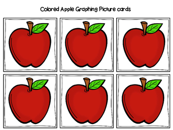 Which apple tree had the most/least/same colored apples? (graphing activity)