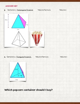 Which Container Fits The Most Popcorn? (Volume) 7.9A