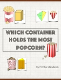 Which Container Fits The Most Popcorn? (Volume)