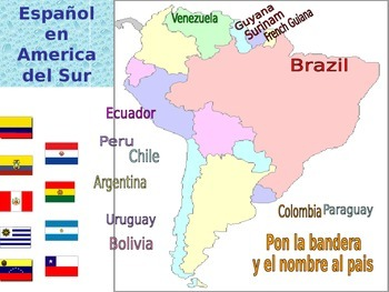 Which countries speak Spanish? Great mini lesson for Day of the Dead