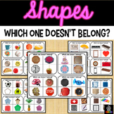 Which doesn't belong - Shapes
