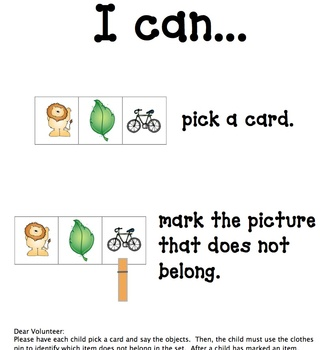 Which doesn't belong? --  Literacy Station