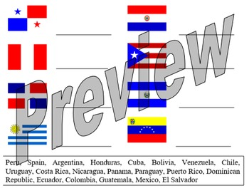 Which flag is it? Hispanic countries