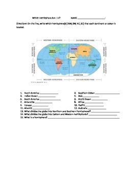 Which hemisphere?
