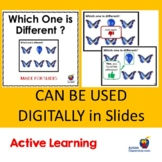 Which is Different? (To Be Used With Slides) Autism and Sp